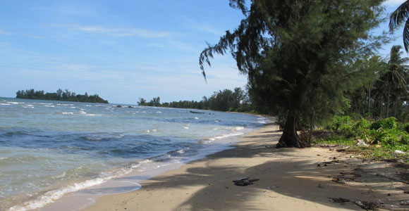 Уединённый пляж