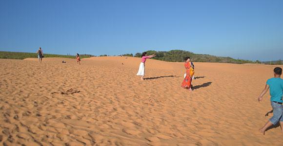 фотосессия на дюнах