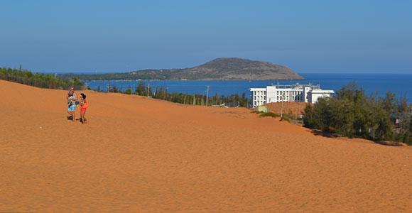 море и дюны