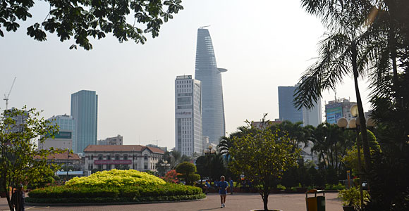 башня в Хошимине