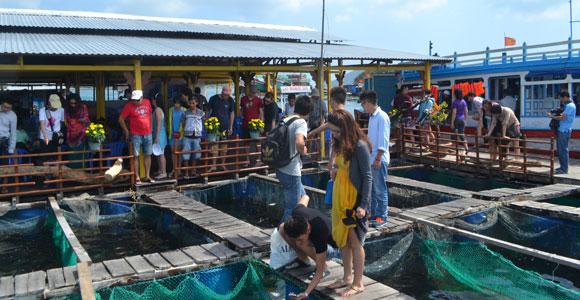 в рыбацкой деревне